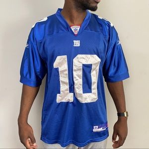 2000s Reebok Eli Manning Stitched Jersey